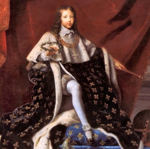 Ludwik XIV król francji
